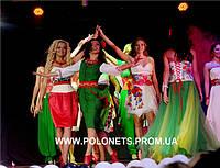 """Выход в национальных платьях """"Студ-мисс Украина 2012"""""""