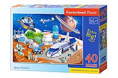 Пазлы maxi Космическая станция на 40 элементов