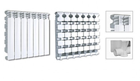 Радиаторы (батареи) алюминиевые Fondital Vision 500х100мм