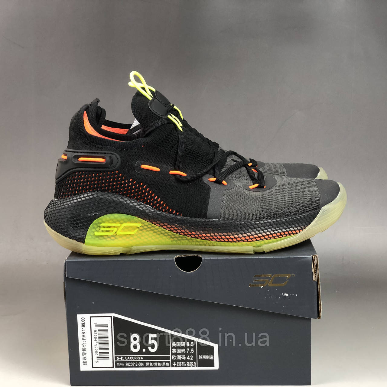 new product d050f 09ceb Under Armour Curry 6 Low Fox Theater мужские кроссовки: продажа, цена в  Николаеве. обувь для баскетбола от