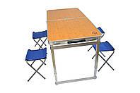 Раскладной стол для пикника со стульями Bonro модель C, фото 1