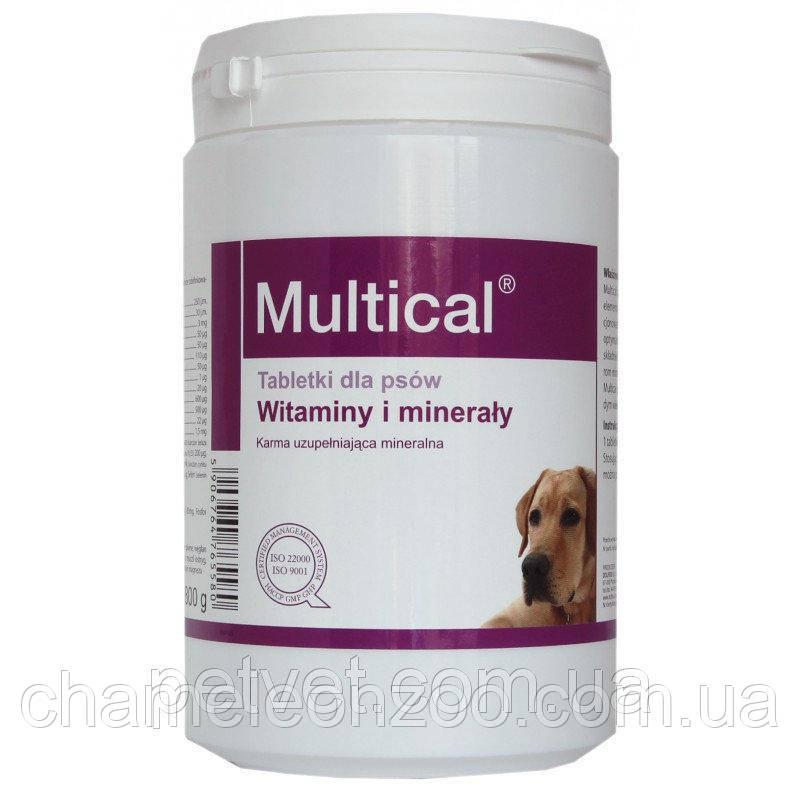 Мультикаль 520 т Долфос - полівітамінний комплекс для дорослих собак
