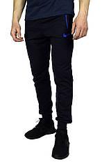 Темно-синие мужские спортивные штаны с манжетами NIKE