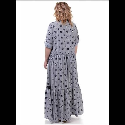 Платье , цвет - звезды белый, фото 2
