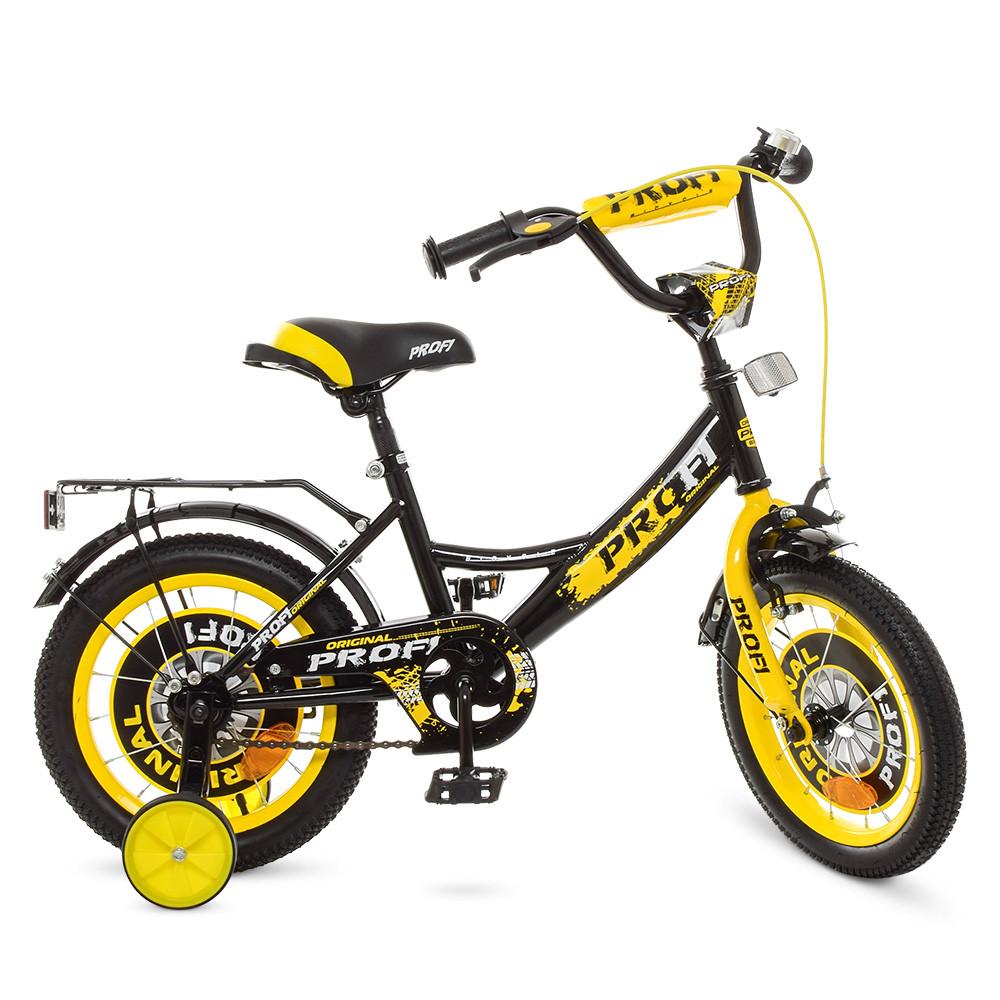 Велосипед детский PROF1 14д. Y1443 Желтый