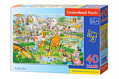 Пазлы maxi Зоопарк на 40 элементов