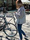 Куртка Из Полиэстра Комбинированная С Овчиной Оversize 0148ШТ, фото 4