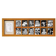Рамка для фотографий и отпечатка Первый год Baby Art
