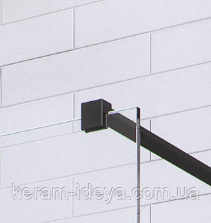 Душевая перегородка Radaway Walk-in Modo New Black I 120см 388124-54-01, фото 2