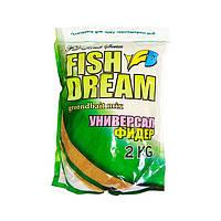 Прикормка Fish Dream 2 кг Универсал-Фидер