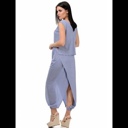 Костюм женский,  цвет - джинс, фото 2