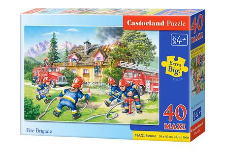 Пазлы maxi Пожарная бригада  на 40 элементов, фото 2