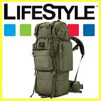 Тактический Штурмовой Военный Рюкзак 65л Oxford 600D + Подарок