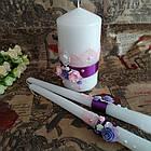 Свадебные свечи ручная работа, фото 2