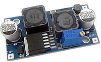 Понижающий-повышающий импульсный стабилизатор напряжения XL6009 регулируемый