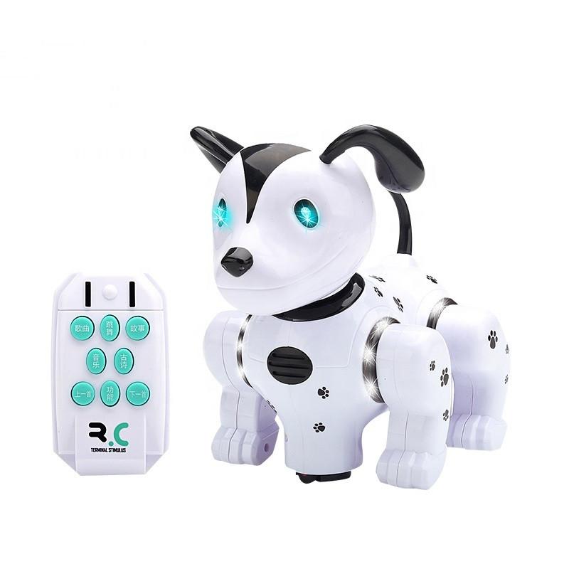 Інтерактивна іграшка FENGQI TOYS Naughty Puppy робот-собака на р/к Білий (SUN4168)