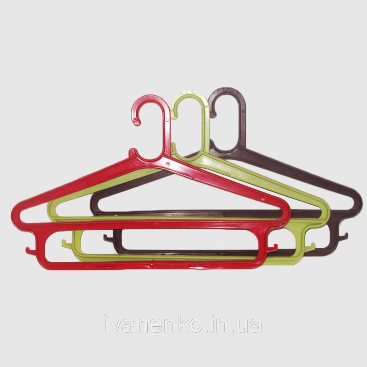 Вешалки плечики для одежды на 2 перекладины