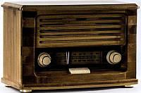 Музыкальный ретро проигрыватель Daklin Радио Бамбук MC58B, поддержка MP3 иWMA
