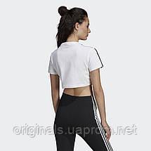 Женская футболка Adidas Cropped DV2620  , фото 3