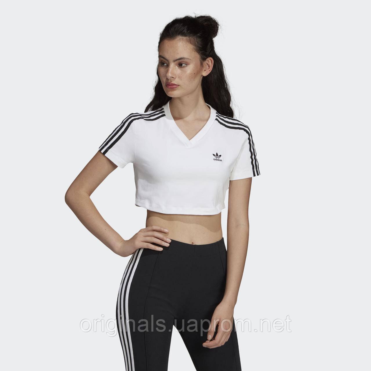 Женская футболка Adidas Cropped DV2620