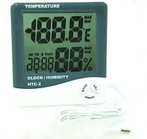 Метеостанция с часами TS ― HTC 2 термометр температура и влажность часы наружный датчик температур