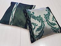Комплект подушек салатовые и бирюзовые, 2шт, фото 1