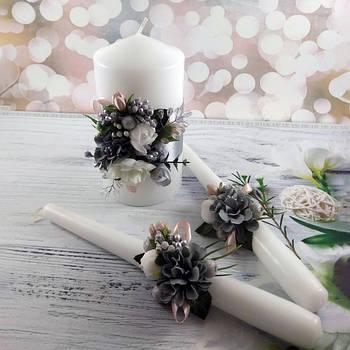 Свадебные свечи ручной работы
