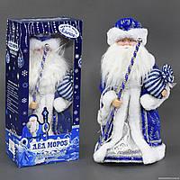 Дед Мороз С 23443 (18) музыкальный, в коробке (мятая коробка) РАСПРОДАЖА!!!