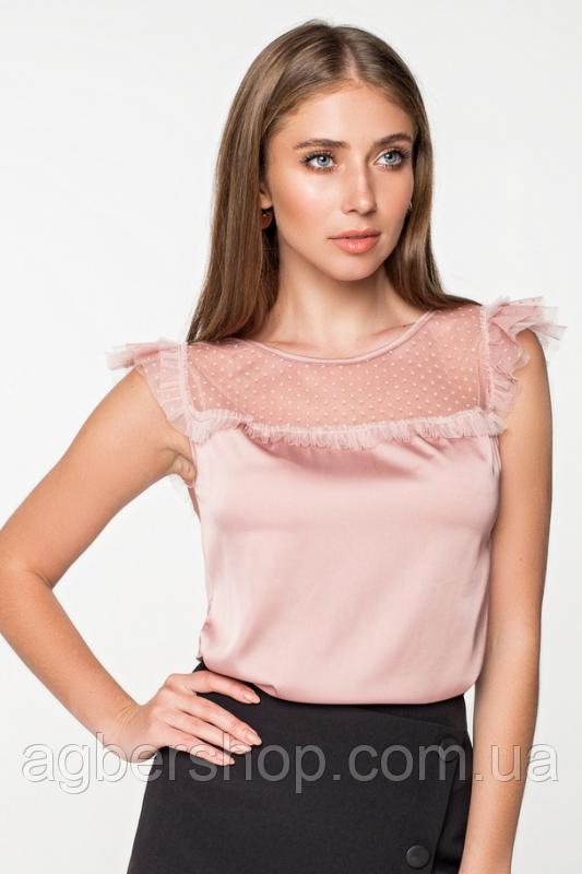Блуза шелковая (Арт. 21126)