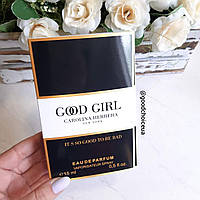 Туалетная вода женская Carolina Herrera Good Girl - 15 мл