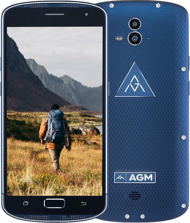 Смартфон AGM X1 4/64GB Blue (White box)
