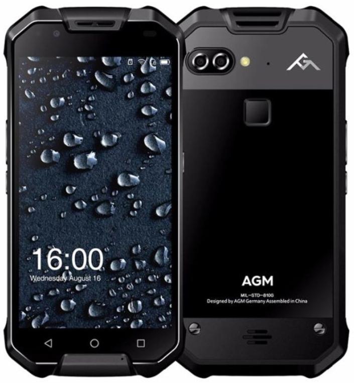Смартфон AGM X2 SE 6/64GB Black (Classic Version)
