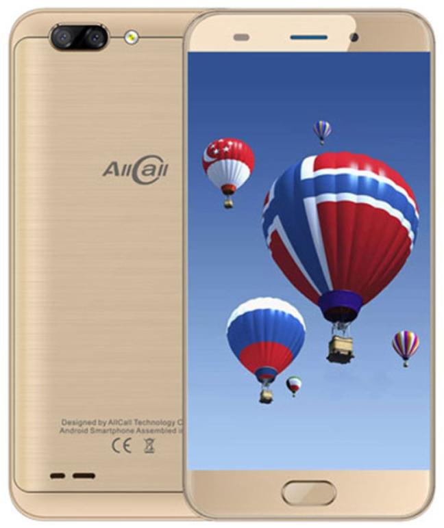Смартфон Allcall Atom 2/16GB Gold