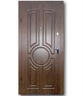 Входная дверь  Эконом Тектон дуб темный 960х2050