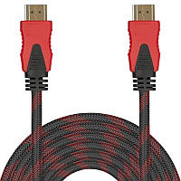ϞМультимедийный кабель Lesko HDMI/HDMI 1,5m для компьютера ноутбука и смарт тв качественная картинка HD
