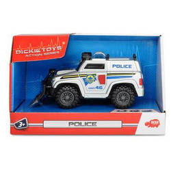 Машинка Полиция со щитом, светом и звуком, Dickie Toys