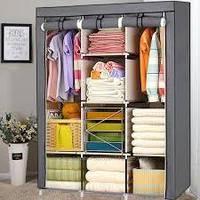 Большой тканевый шкаф для одежды 88130