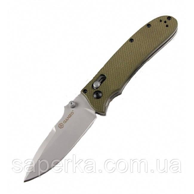 Нож складной Ganzo G704, светло-зеленый