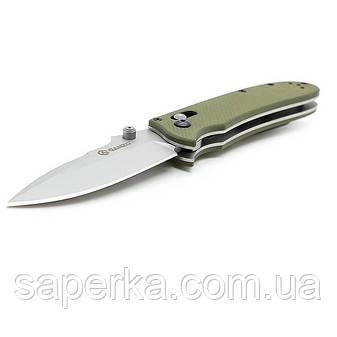 Нож складной Ganzo G704, светло-зеленый, фото 2