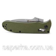 Нож складной Ganzo G704, светло-зеленый, фото 3