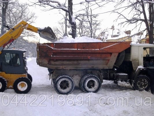 Вывоз снега, уборка территорий