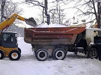Вывоз снега, уборка территорий, фото 1