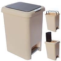 Ведро мусорное пластик 10л 34см R85425