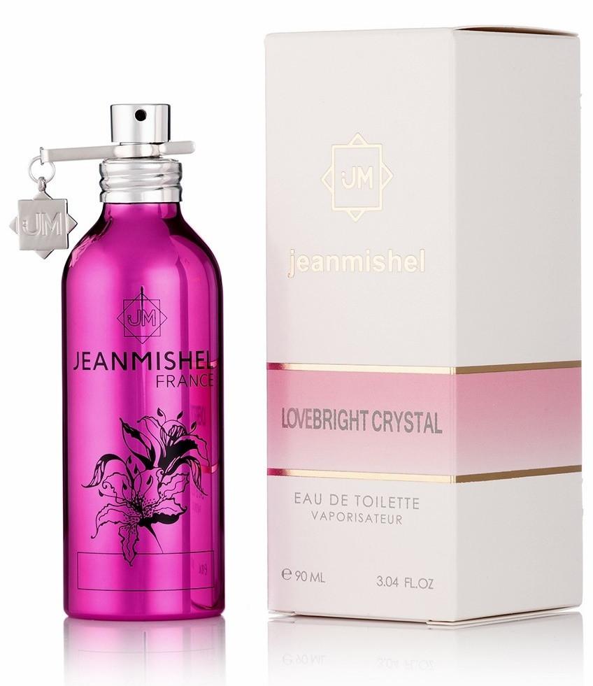 Женская туалетная вода Jeanmishel Love Bright Crystal - 90 мл Montale № 71
