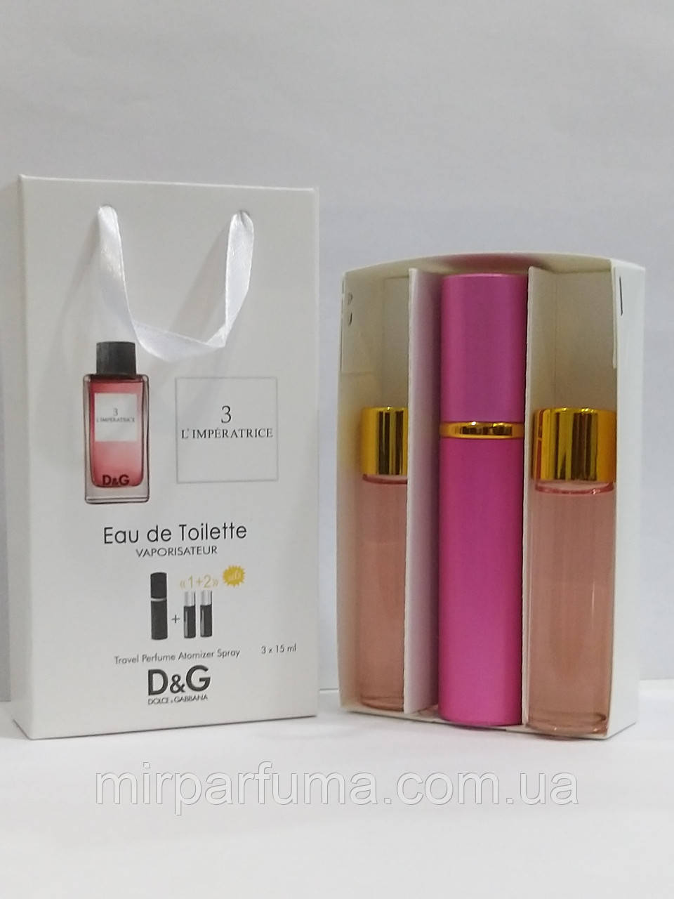 Міні парфуми з феромонами 45ml Dolce & Gabbana 3 L ' imperatrice