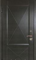"""Входная квартирная дверь """"Портала"""" (серия Стандарт) ― модель Граф 3 с 3D фрезеровкой, фото 1"""