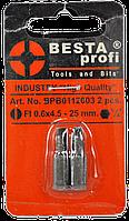 Бита FL 0,6x4,5 - 25 mm