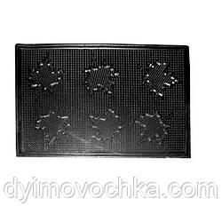 Коврик бытовой резиновый «Листок»PG98673Stenson,58х76х0,5 см