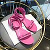 Босоножки Balenciaga  на плоской подошве ROUND ( 551154WA7615605 )