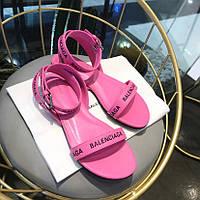Босоножки Balenciaga  на плоской подошве ROUND ( 551154WA7615605 ), фото 1
